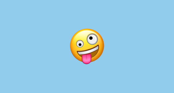 Zany Face Emoji On Apple Ios 11 1