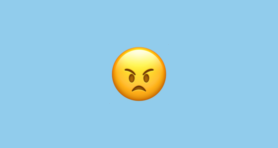 Angry Face Emoji