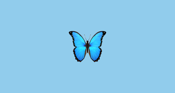 Butterfly Emoji On Apple Ios 11 3