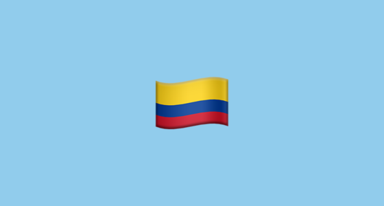Flag For Colombia Emoji