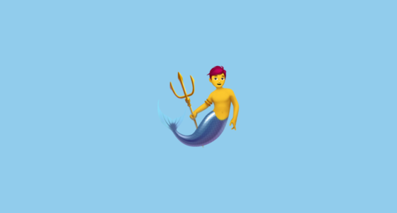 merman emoji
