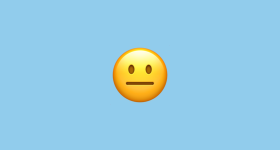neutral face 1f610 png