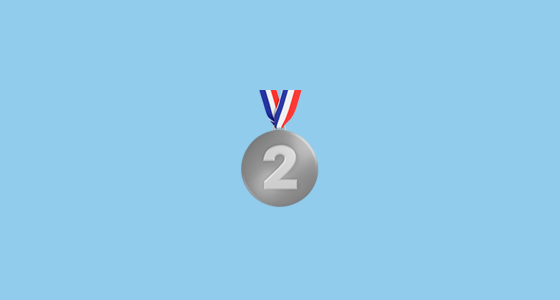 Second Place Medal Emoji