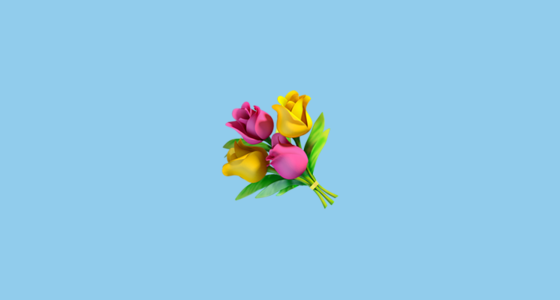 Bouquet Emoji