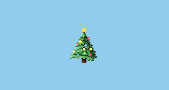 🎄 Christmas Tree Emoji