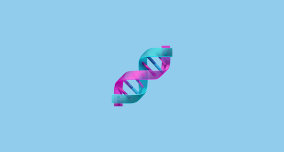 dna double helix emoji