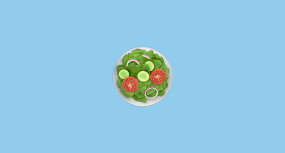 Green Salad Emoji