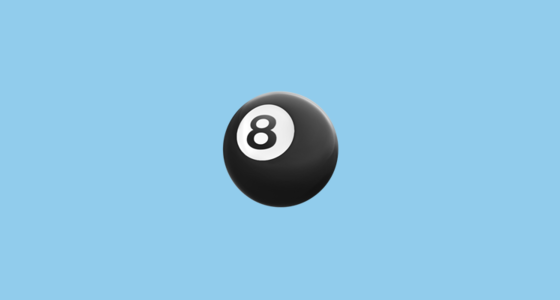 🎱 Billiards Emoji