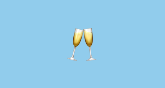 🥂 Clinking Glasses Emoji