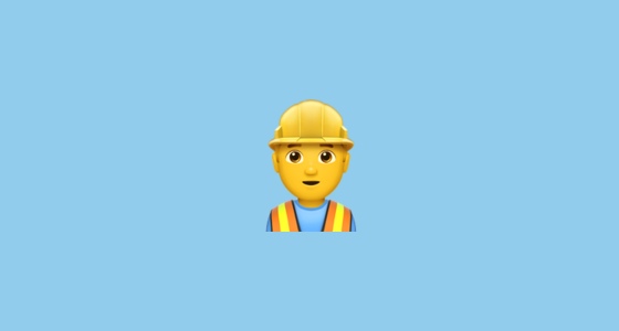 👷 Construction Worker Emoji
