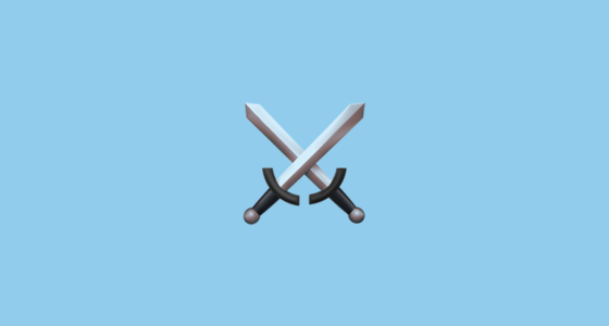 ⚔️ Crossed Swords Emoji