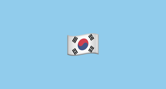 🇰🇷 Flag for South Korea Emoji