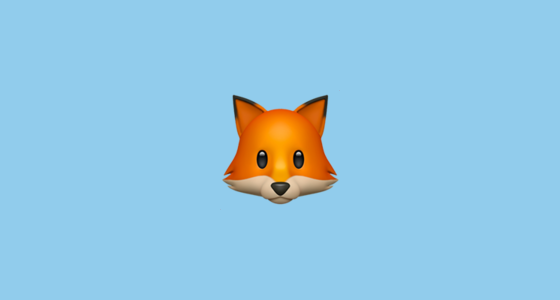 🦊 Fox Face Emoji