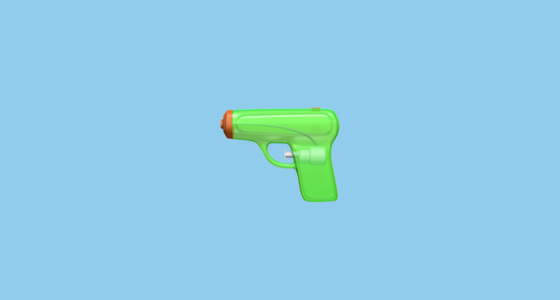 Pistol Emoji