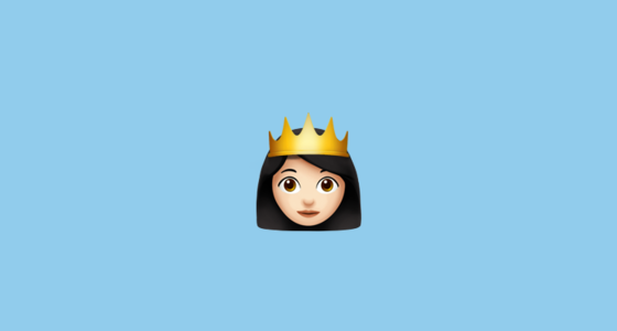 👸🏻 Princess With Pale Skin Tone Emoji