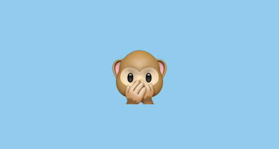 🙊 Speak-No-Evil Monkey Emoji