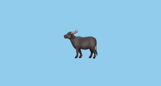 🐃 Water Buffalo Emoji