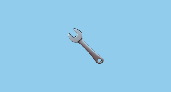 🔧 Wrench Emoji