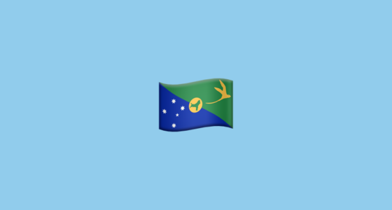Christmas Island Flag.Flag For Christmas Island Emoji