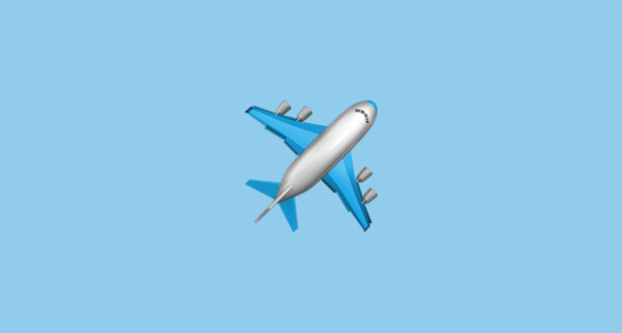 Airplane Emoji
