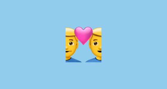 couple with heart emoji meaning