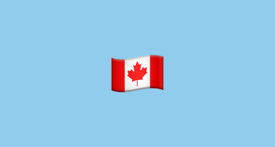 Flag For Canada Emoji
