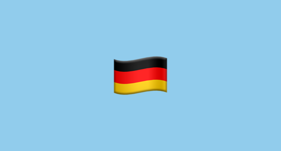 Flag For Germany Emoji