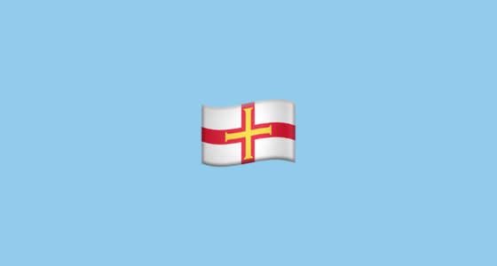 Flag For Guernsey Emoji