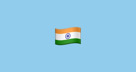 Flag For India Emoji