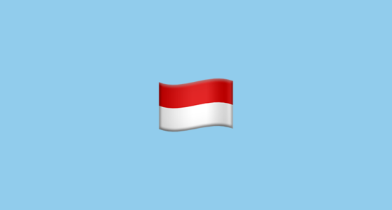 Flag For Indonesia Emoji