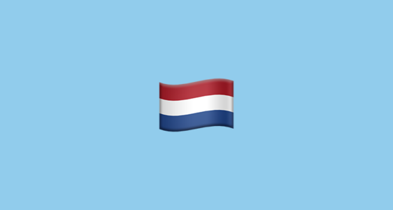 Flag For Netherlands Emoji