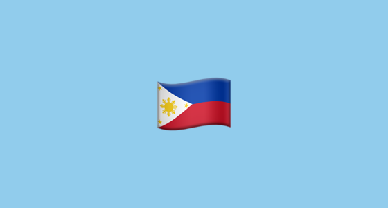 Flag For Philippines Emoji