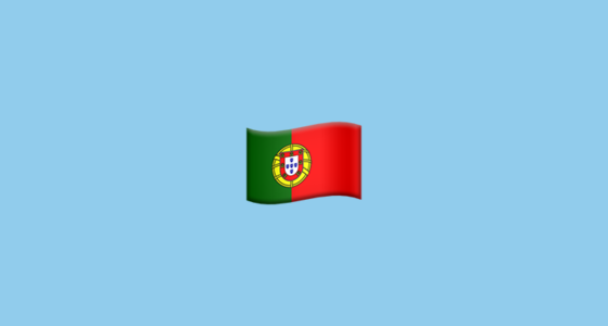 Flag For Portugal Emoji
