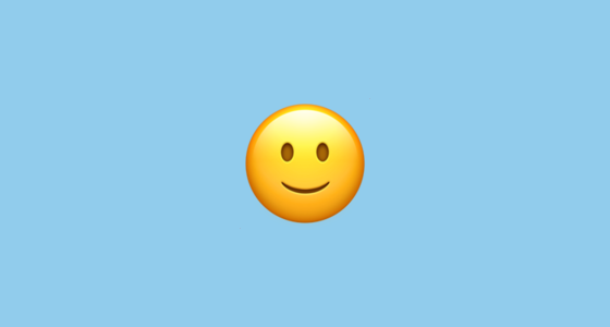 slightly smiling face 1f642