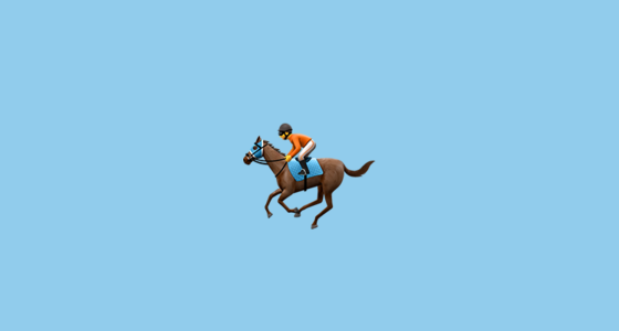 horse betting odds meanings of emoji