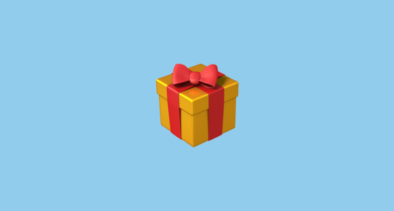 Wrapped Present Emoji These emojis became part of the apple iphone starting in ios. wrapped present emoji