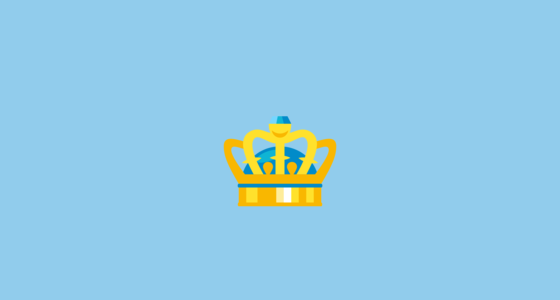 Crown Emoji On Emojione 30