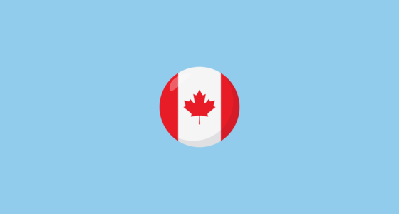 🇨🇦 Flag: Canada Emoji on JoyPixels 3 0