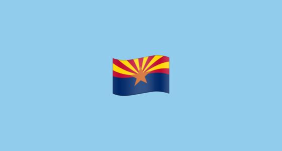 🏴󠁵󠁳󠁡󠁺󠁿 Flag for Arizona (US-AZ) Emoji