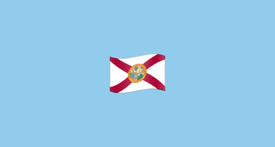 🏴󠁵󠁳󠁦󠁬󠁿 Flag for Florida (US-FL) Emoji