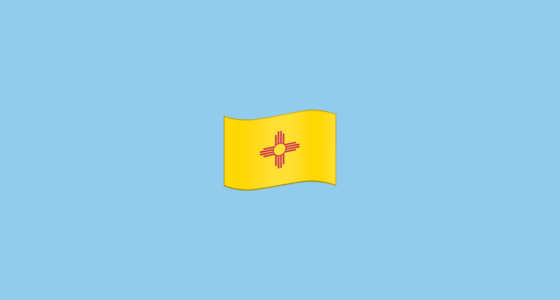 🏴󠁵󠁳󠁮󠁭󠁿 Flag for New Mexico (US-NM) Emoji