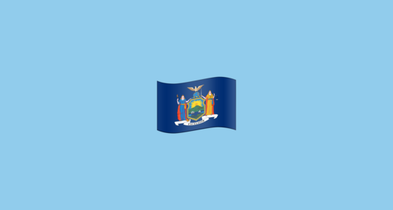 🏴󠁵󠁳󠁮󠁹󠁿 Flag for New York (US-NY) Emoji