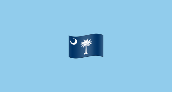 Flag For South Carolina Us Sc Emoji