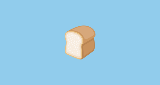bread emoji on facebook 2 0