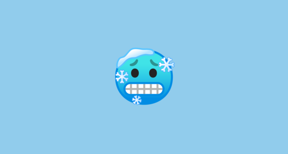 Cold Face Emoji On Google Android 90