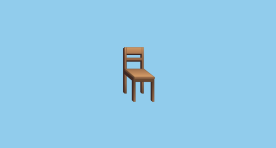 Chair Emoji