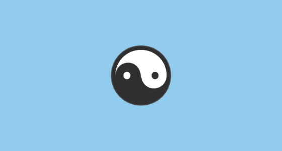 Yin Yang Emoji On Google Android 6 0 1