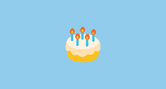 Birthday Cake Emoji On Google Android 70