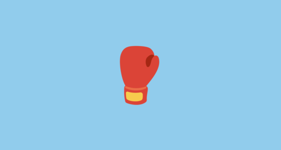 boxing glove emoji on google android 7 0