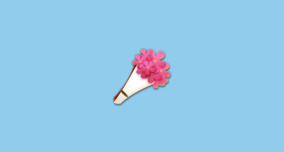 Bouquet Of Flowers Emoji